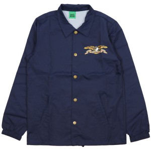ANTIHERO / STOCK EAGLE COACHES JACKET (CLASSIC NAVY)
