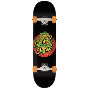 SANTA CRUZ X TMNT / TURTLE POWER SKATEBOARD COMPLETE 7.75