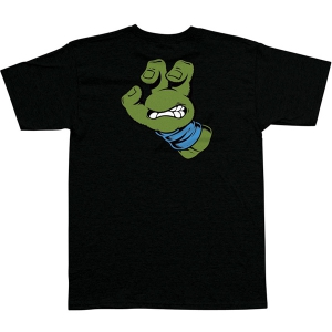 SANTA CRUZ X TMNT / TURTLE HAND TEE (BLACK/BLUE)