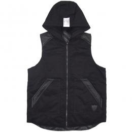 CLOUD13 / HOOD VEST (BLACK)