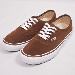 VANS /AUTHENTIC PRO (RUBBER/WHITE)