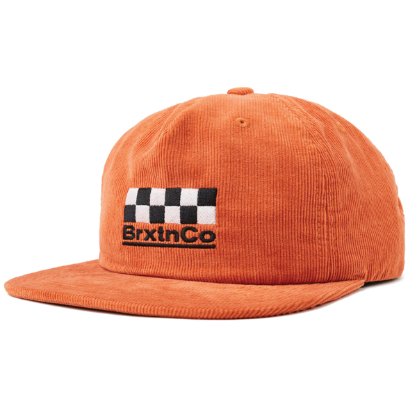 BRIXTON / BURNS MP SNAPBACK CAP (PEACH)