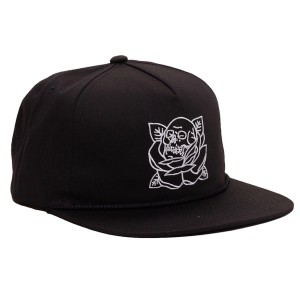 REBEL8 / STIGMA SNAPBACK CAP (BLACK)