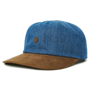 BRIXTON / B-SHIELD III CAP (DENIM)