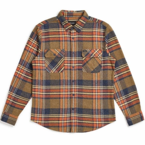 BRIXTON / BOWERY L/S FLANNEL SHIRT (SAGE)