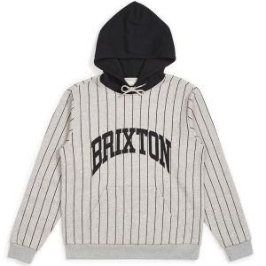 BRIXTON / UNIVERSITY HOOD (HEATHER GREY)