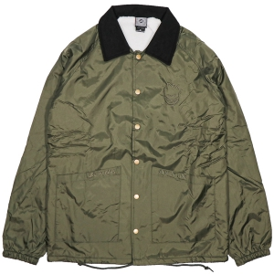 SPITFIRE / LIL BIGHEAD SHEARLING LINED NYLON CHORE JACKET (OLIVE)