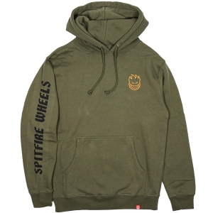 SPITFIRE / LIL BIGHEAD HOMBRE PULLOVER HOODIE (ARMY)