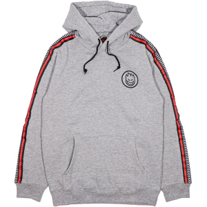SPITFIRE / CLASSIC SWIRL STRIPE PULLOVER HOODIE (HEATHER GREY)