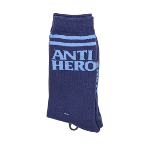 ANTIHERO / BLACKHERO IF FOUND SOCKS (NAVY/LT. BLUE)
