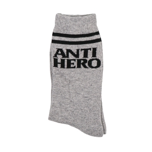 ANTIHERO / BLACKHERO IF FOUND SOCKS (HEATHER/BLACK)