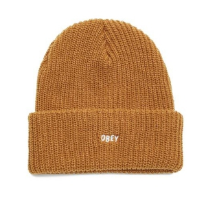 OBEY / JUMBLED BEANIE (TAPENADE)