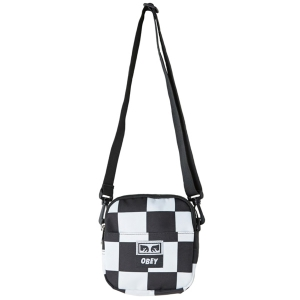 OBEY / DROP OUT TRAVELER BAG (CHECKER)
