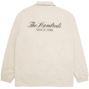 THE HUNDREDS / RICH COACHES JACKET (KHAKI)