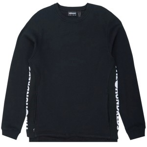 THE HUNDREDS / VALLEY CREWNECK SWEAT (BLACK)