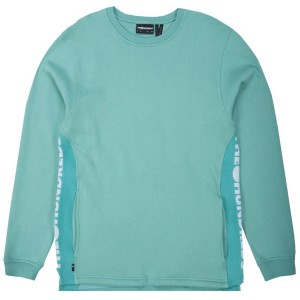 THE HUNDREDS / VALLEY CREWNECK SWEAT (PALE TURQUOISE)