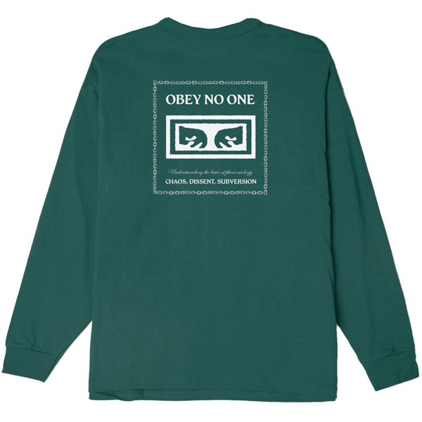 OBEY / UNDERSTANDING BASIC L/S TEE (PINE)