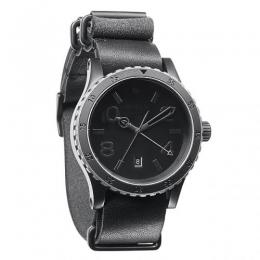 NIXON / THE DIPLOMAT (MATTE BLACK/ANTIQUE SILVER)
