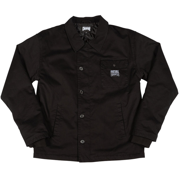 CREATURE / BEDFORD CORD WORK JACKET (BLACK)