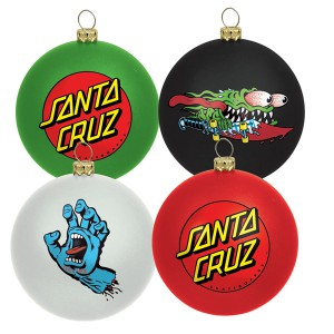 SANTA CRUZ / SANTA CRUZ ORNAMENT SET (MULTI)