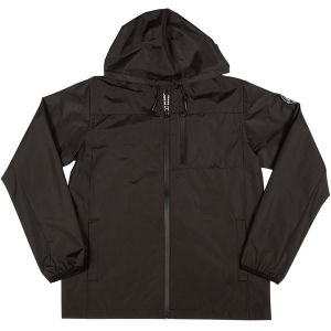 SANTA CRUZ / REVERSE DOT HOODED WINDBREAKER JACKET (BLACK)