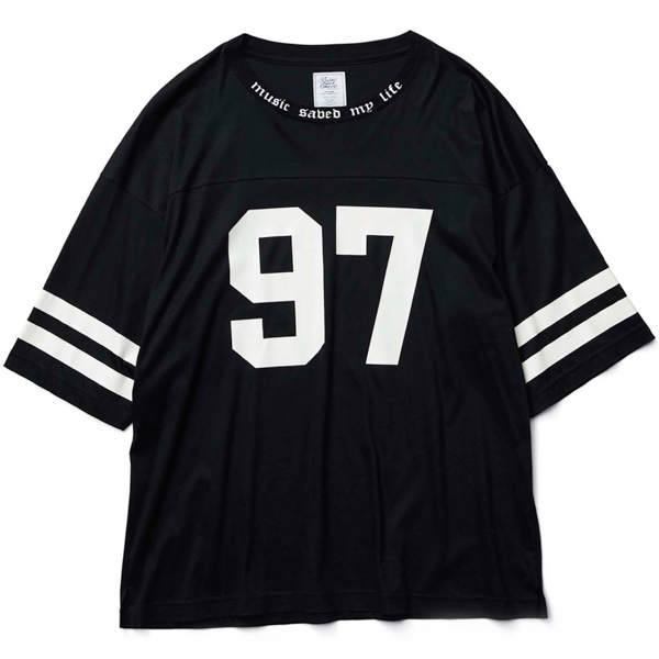 MSML / SMOOTH FOOTBALL CUTSEW (BLACK)
