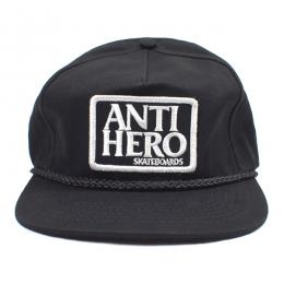 ANTIHERO /  RESERVE PATCH SNAPBACK CAP (BLACK)