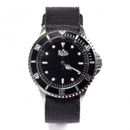 SILLY GOOD / IVY LOGO WATCH (BLACK)