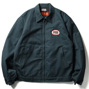 LZBN / OVAL LOGO PATCH WORK JACKET (SPRUCE)