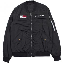 AFFECTER / AFF45 MA-1 JKT (BLACK)