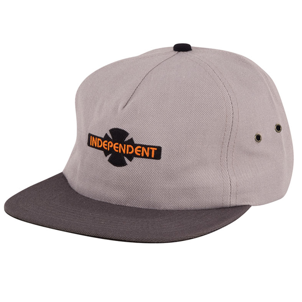 INDEPENDENT / GENERATION B/C STRAPBACK CAP (LIGHT GREY/CHARCOAL)