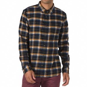 VANS / BANFIELD FLANNEL SHIRT (BLACK/RUBBER)