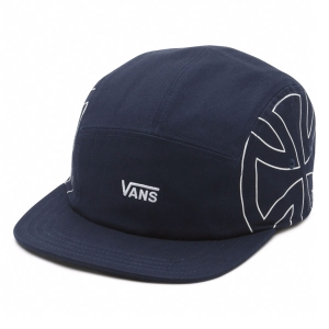 VANS / VANS X INDEPENDENT 5-PANEL CAMPER CAP (DRESS BLUES)