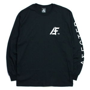 AFFECTER / AFF TM L/S TEE (BLACK)