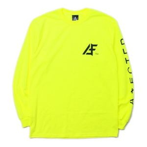 AFFECTER / AFF TM L/S TEE (NEON GREEN)