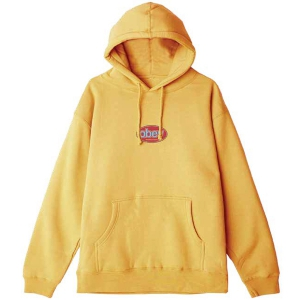 OBEY / OBEY INTERNATIONAL PULLOVER HOODIE (GOLD)