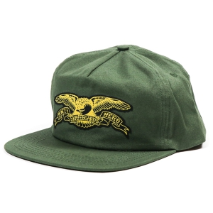 ANTIHERO /  BASIC EAGLE PATCH SNAPBACK CAP (OLIVE/YELLOW)