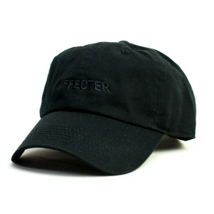 AFFECTER / COLOR LOGO BALL CAP (BLACK)