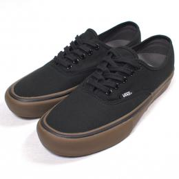 "VANS /AUTHENTIC PRO (""CANVAS""BLACK/GUM)"