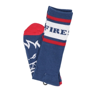 SPITFIRE / OG CLASSIC SOCKS (NAVY/RED/WHITE)