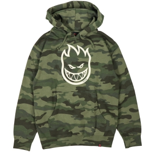 SPITFIRE / BIGHEAD PULLOVER HOODIE (FOREST CAMO)