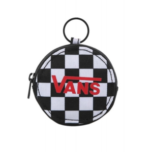 VANS / COIN PORSE KEYCHAIN (BLACK CHECKERBOARD)