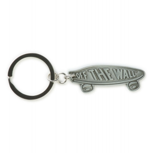 VANS / METAL SKATEBOARD KEYCHAIN (ANTIQUE SILVER)