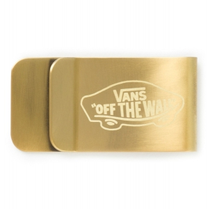 VANS / VANS MONEY CLIP (ANTIQUE BRASS)