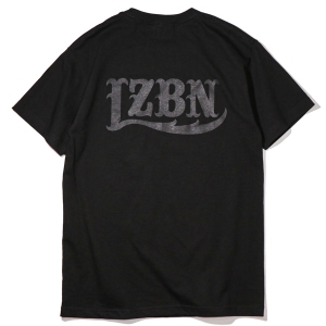 LZBN / LZBN BACK LOGO TEE (ALL BLACK)