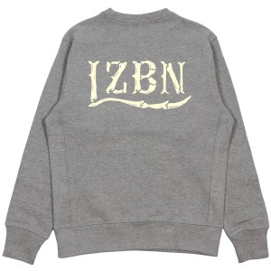 LZBN / BONES LOGO CREWNECK SWEAT (H.GREY)
