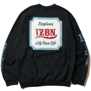 LZBN / CLASSICAL CREWNECK SWEAT (BLACK)