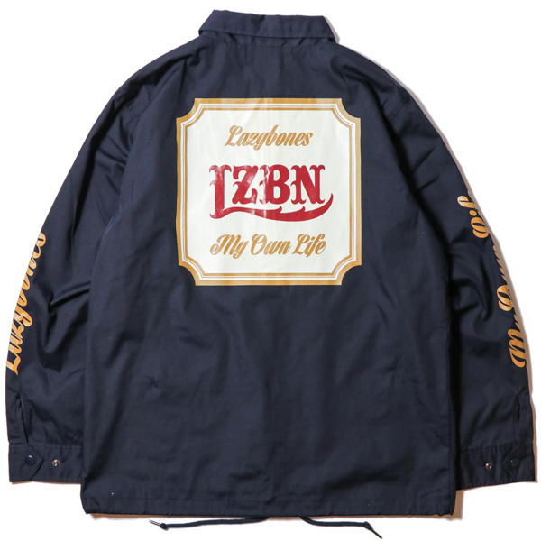 LZBN / CLASSICAL COACH JACKET (NAVY)