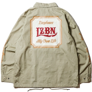 LZBN / CLASSICAL COACH JACKET (BEIGE)