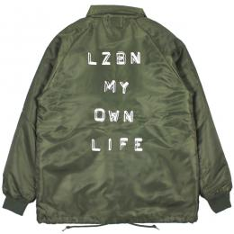 LZBN / LABEL BOA COACH JACKET (OLIVE)